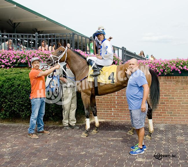 Winter's Child winning at Delaware Park on 8/16/14