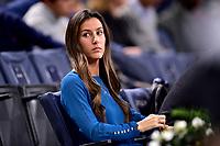 1st November 2019, AccorHotels Arena, Bercy, Paris, France; Rolex Paris Masters tennis tournament;  Ana Boyer Preysler - companion of Fernando Verdasco (Esp)