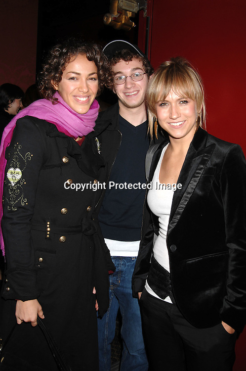 """Elena Goode, Alex Charak and Jennifer Landon ..at The Workshop Theatre Company """"Daytime at Nightime 2006""""  Benefit on October 23, 2006 at The Lucille Lortel Theatre. ..Robin Platzer, Twin Images"""