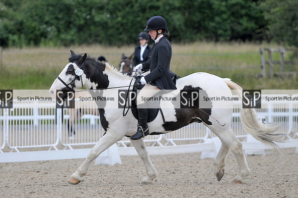 Class 3. Unaffiliated Dressage. Brook Farm Training Centre. Essex. 25/06/2016. MANDATORY Credit Garry Bowden/Sportinpictures - NO UNAUTHORISED USE - 07837 394578