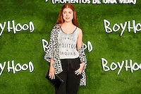 "Alba Messa attend the photocall of the Premiere of the movie ""Boyhood"" at the Cineteca in Madrid, Spain. September 09, 2014. (ALTERPHOTOS/Carlos Dafonte)"