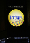 Theatre Marquee for the Broadway Opening Night Performance  for 'In Transit' at Circle in the Square Theatre on December 11, 2016 in New York City.