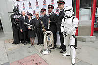 LOS ANGELES - MAY 24: Todd Fisher, Salvation Army Band at a ceremony to unveil a commemorative plaque in honor of Carrie Fisher at TCL Chinese Theatre IMAX on May 24, 2018 in Los Angeles, CA