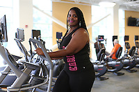 She has worked with Starr Hill Martha Jefferson and ACAC to loose over 100 lbs. in Charlottesville, Va. Photo/Andrew Shurtleff