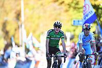 Picture by Simon Wilkinson/SWpix.com - 30/09/2018 - Cycling 2018 Road Cycling World Championships Innsbruck-Tirol, Austria - Men's Elite Road Race - Dan Martian of Ireland.
