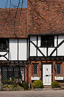Tudor houses in Chilham, Kent, UK April 22nd 2008