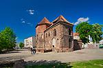 Gotycki kościół św. Marcina w zachodniej części Ostrowa Tumskiego