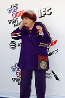 LOS ANGELES - MAR 3:  Agnes Varda at the 2018 Film Independent Spirit Awards at the Beach on March 3, 2018 in Santa Monica, CA