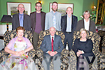 Pictured at the Killarney Community College 25th anniversary social in the Dromhall Hotel, Killarney on Friday night were Helene Brunicardi, Tim Healy, Mary Humphries, Tim Corocran, Ciaran Gallagher, Jerry O'Donogue, Tom Glover and Jerry Goulding.