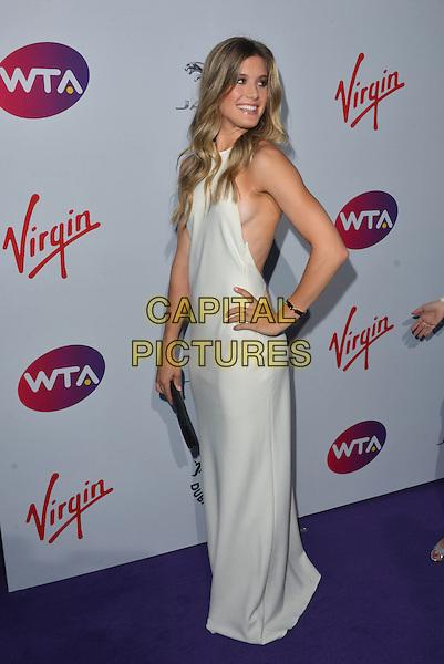 Eugenie Bouchard<br /> attending the WTA Pre-Wimbledon Party at  The Roof Gardens, Kensington, London England 25th June 2015.<br /> CAP/PL<br /> &copy;Phil Loftus/Capital Pictures