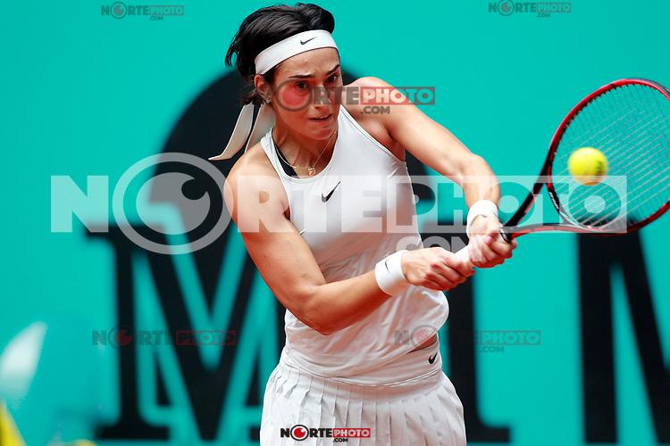 Caroline Garcia, France, during Madrid Open Tennis 2018 match. May 7, 2018.(ALTERPHOTOS/Acero) /NortePhoto.com