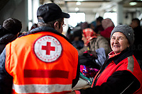Bosnia. Unknon, Bosnian Red Cross Workers.<br /> <br /> Rome, 01/05/2019. This year I will not go to a MayDay Parade, I will not photograph Red flags, trade unionists, activists, thousands of members of the public marching, celebrating, chanting, fighting, marking the International Worker's Day. This year, I decided to show some of the Workers I had the chance to meet and document while at Work. This Story is dedicated to all the people who work, to all the People who are struggling to find a job, to the underpaid, to the exploited, and to the people who work in slave conditions, another way is really possible, and it is not the usual meaningless slogan: MAKE MAYDAY EVERYDAY!<br /> <br /> Happy International Workers Day, long live MayDay!