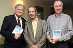 Dr. Harry Barry with Dr.Tony Bates, CEO of Headstrong, The National Centre for Youth Mental Health in Ireland and Enda Murphy, Assistant Director of GP Trianing at his book launch in The Boyne Valley Hotel....Photo NEWSFILE/Jenny Matthews.(Photo credit should read Jenny Matthews/NEWSFILE)....This Picture has been sent you under the condtions enclosed by:.Newsfile Ltd..The Studio,.Millmount Abbey,.Drogheda,.Co Meath..Ireland..Tel: +353(0)41-9871240.Fax: +353(0)41-9871260.GSM: +353(0)86-2500958.email: pictures@newsfile.ie.www.newsfile.ie.FTP: 193.120.102.198.
