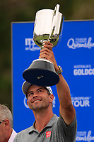 Adam Scott (AUS) winner of the Australian PGA Championship at  RACV Royal Pines Resort, Gold Coast, Queensland, Australia. 22/12/2019.<br /> Picture Thos Caffrey / Golffile.ie<br /> <br /> All photo usage must carry mandatory copyright credit (© Golffile   Thos Caffrey)