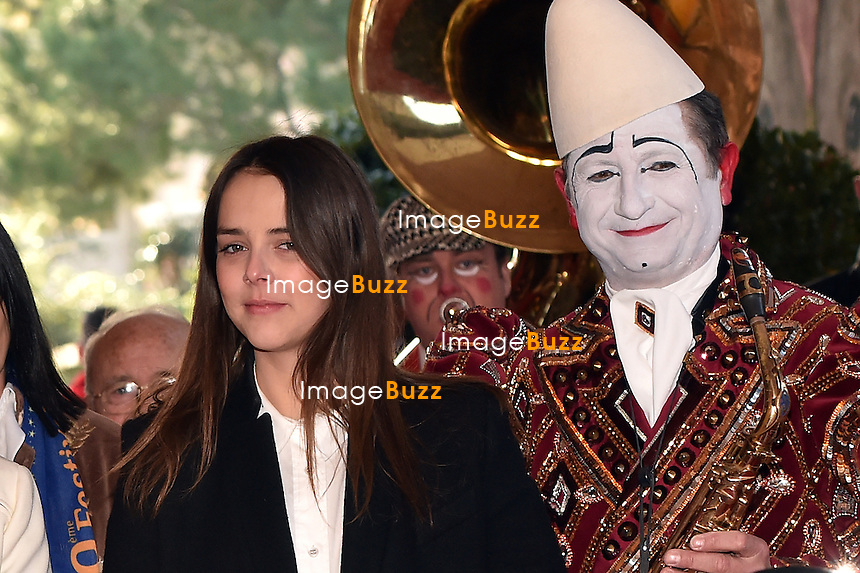 January 18, 2015 - Pauline Ducruet arrive for the 39th International Circus Festival of Monte-Carlo in Monaco