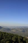 Israel, Lower Galilee. Mount Turan overlooking Beit Netofa valley