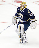 Mike Johnson (Notre Dame - 32) - The University of Notre Dame Fighting Irish defeated the Merrimack College Warriors 4-3 in overtime in their NCAA Northeast Regional Semi-Final on Saturday, March 26, 2011, at Verizon Wireless Arena in Manchester, New Hampshire.
