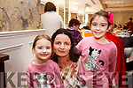 Shona, Maureen and Holly O'Neill from Farmers Bridge attending the Caherleaheen School Bingo in the Rose Hotel on Sunday last,