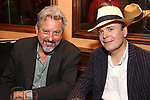 Jeff Still and Jefferson Mays attends the 2017 New York Drama Critics' Circle Awards Reception at Feinstein's / 54 Below on 5/18/2017 in New York City.