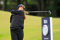 Paz Marfa Sans (ESP) ON THE 1st tee during Round 2 of the Women's Amateur Championship at Royal County Down Golf Club in Newcastle Co. Down on Wednesday 12th June 2019.<br /> Picture:  Thos Caffrey / www.golffile.ie