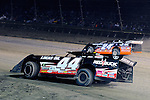 Sep 12, 2010; 12:27:24 AM; Rossburg, OH., USA; The 40th annual running of the World 100 Dirt Late Models racing for the Globe trophy at the Eldora Speedway.  Mandatory Credit: (thesportswire.net)