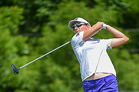 Brittany Lang (USA) watches her tee shot on 11 during round 1 of the 2018 KPMG Women's PGA Championship, Kemper Lakes Golf Club, at Kildeer, Illinois, USA. 6/28/2018.<br /> Picture: Golffile | Ken Murray<br /> <br /> All photo usage must carry mandatory copyright credit (&copy; Golffile | Ken Murray)