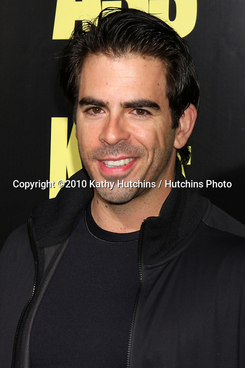 """Eli Roth.arrives at  the """"Kick-Ass"""" Premiere.ArcLight Dome Theater.Los Angeles, CA.April 13, 2010.©2010 Kathy Hutchins / Hutchins Photo..."""