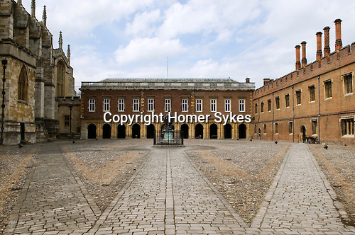 Eton college school, the quadrangle. Eton near nr Windsor Berkshire. England 2006