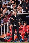 Manager Jorge Jesus of Sporting Portugal reacts during their 2016-17 UEFA Champions League match between Real Madrid vs Sporting Portugal at the Santiago Bernabeu Stadium on 14 September 2016 in Madrid, Spain. Photo by Diego Gonzalez Souto / Power Sport Images