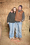Families gather after Christmas at the Cuneo Ranch in California's Mother Lode. Gabrielle and Clinton.