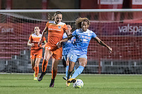 Bridgeview, IL - Saturday July 23, 2016: Chicago Red Stars defender Casey Short (6) and Houston Dash midfielder Cami Privett (23) during a regular season National Women's Soccer League (NWSL) match between the Chicago Red Stars and the Houston Dash at Toyota Park.