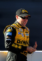 Nov. 7, 2008; Avondale, AZ, USA; NASCAR Sprint Cup Series driver Matt Kenseth during qualifying for the Checker Auto Parts 500 at Phoenix International Raceway. Mandatory Credit: Mark J. Rebilas-