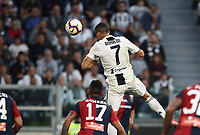 Calcio, Serie A: Juventus - Genoa, Turin, Allianz Stadium, October 20, 2018.<br /> Juventus' Cristiano Ronaldo in action during the Italian Serie A football match between Juventus and Genoa at Torino's Allianz stadium, October 20, 2018.<br /> UPDATE IMAGES PRESS/Isabella Bonotto
