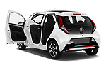 Car images close up view of a 2019 Toyota Aygo x-style 5 Door Hatchback doors