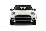 Car photography straight front view of a 2016 MINI CLUBMAN Cooper 5 Door wagon Front View