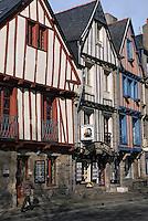 Europe/France/Bretagne/56/Morbihan/Vannes: Vieilles maisons sur les quais du port