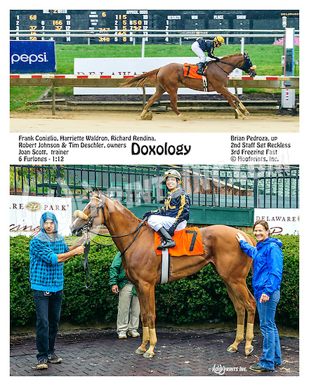 Doxology winning at Delaware Park on 9/28/16