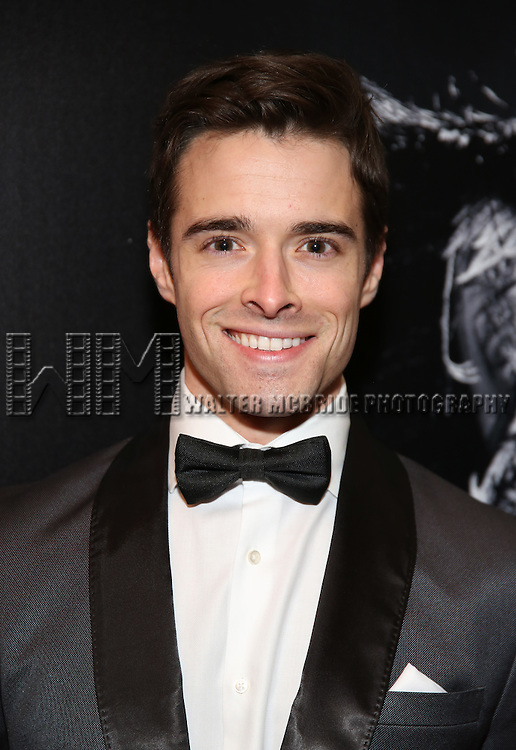 Corey Cott attend the Broadway Opening Night of Sunset Boulevard' at the Palace Theatre Theatre on February 9, 2017 in New York City.