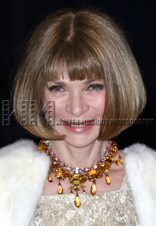 Anna Wintour  attending the  2013 White House Correspondents' Association Dinner at the Washington Hilton Hotel in Washington, DC on 4/27/2013