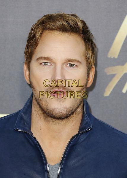 BURBANK, CA - APRIL 09: Actor Chris Pratt attends the 2016 MTV Movie Awards at Warner Bros. Studios on April 9, 2016 in Burbank, California.<br /> CAP/ROT/TM<br /> &copy;TM/ROT/Capital Pictures