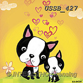 Sarah, CUTE ANIMALS, LUSTIGE TIERE, ANIMALITOS DIVERTIDOS, paintings+++++,USSB427,#AC#, EVERYDAY