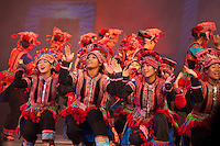 The ethnic people of Yunnan are showcased in a  performance in Kunming.
