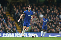 Chelsea's Gary Cahill<br /> <br /> Photographer Rob Newell/CameraSport<br /> <br /> The Premier League - Chelsea v West Ham United - Sunday 8th April 2018 - Stamford Bridge - London<br /> <br /> World Copyright &copy; 2018 CameraSport. All rights reserved. 43 Linden Ave. Countesthorpe. Leicester. England. LE8 5PG - Tel: +44 (0) 116 277 4147 - admin@camerasport.com - www.camerasport.com