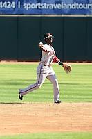 Pedro Ciriaco - Scottsdale Scorpions, 2009 Arizona Fall League.Photo by:  Bill Mitchell/Four Seam Images..