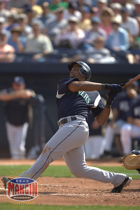 Adrian Beltre. Baseball: Seattle Mariners vs San Diego Padres. Phoenix, AZ 3/3/2005 MANDATORY CREDIT: Brad Mangin/Sports Illustrated