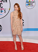 Sadie Sink at the 2017 American Music Awards at the Microsoft Theatre LA Live, Los Angeles, USA 19 Nov. 2017<br /> Picture: Paul Smith/Featureflash/SilverHub 0208 004 5359 sales@silverhubmedia.com