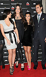 Kim Kardashian,Khloe Kardashian Odom, Kourtney Kardashian & Scott Disick at The Kardashian Charity Knock Out held at The Commerce Casino in Commerce, California on November 03,2009                                                                   Copyright 2009 DVS / RockinExposures