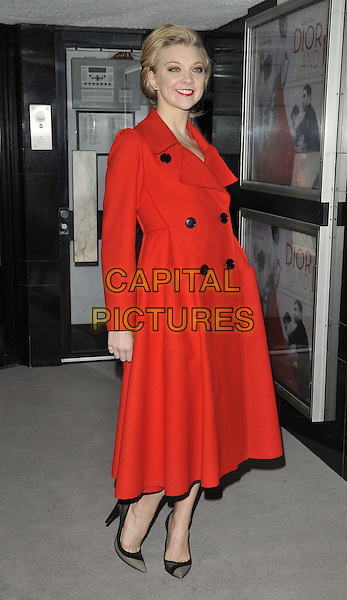 LONDON, ENGLAND - MARCH 16: Natalie Dormer attends the &quot;Dior and I&quot; UK film premiere, Curzon Mayfair cinema, Curzon St., on Monday March 16, 2015 in London, England, UK. <br /> CAP/CAN<br /> &copy;CAN/Capital Pictures