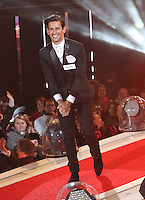 Ollie Locke at Celebrity Big Brother 2014 - Contestants Enter The House, Borehamwood. 03/01/2014 Picture by: Henry Harris / Featureflash