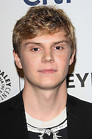 "HOLLYWOOD, LOS ANGELES, CA, USA - MARCH 28: Evan Peters at the 2014 PaleyFest - ""American Horror Story"" held at the Dolby Theatre on March 28, 2014 in Hollywood, Los Angeles, California, United States. (Photo by Celebrity Monitor)"